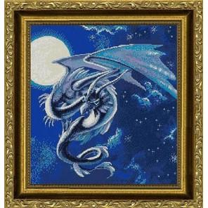 Лунный дракон Набор для вышивания Kustom Krafts NNT-021