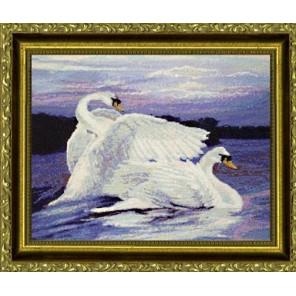 Лебеди Набор для вышивания Kustom Krafts DAW-006K