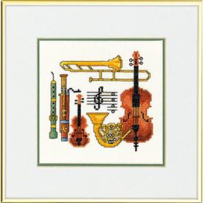 Музыка Набор для вышивания Eva Rosenstand 12-947