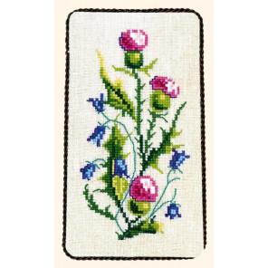 Чертополох и колокольчик Набор для вышивания Eva Rosenstand 33-008