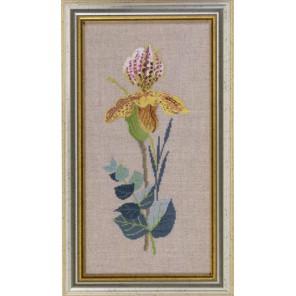 Желтые орхидеи Набор для вышивания Eva Rosenstand 14-465