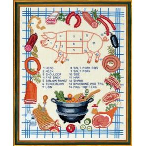 Свинья Набор для вышивания Eva Rosenstand 12-540