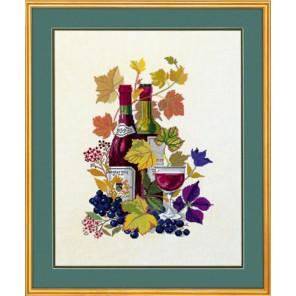 Красное вино Набор для вышивания Eva Rosenstand 08-4366