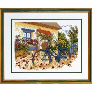 Голубой велосипед Набор для вышивания Eva Rosenstand 14-153