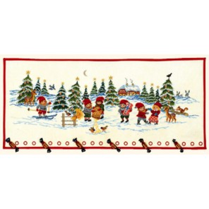 Эльфы в снегу Набор для вышивания Eva Rosenstand 15-252