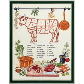 Корова Набор для вышивания Eva Rosenstand 12-526