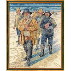 Рыбаки Набор для вышивания Eva Rosenstand 12-611