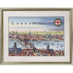 Порт Лондон 1616 Набор для вышивания Eva Rosenstand 12-353