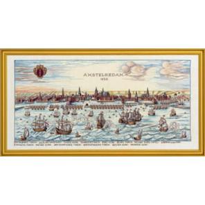Порт Амстердам 1650 Набор для вышивания Eva Rosenstand 12-318