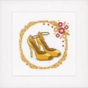Желтые туфли-лодочки Набор для вышивания Vervaco PN-0147019