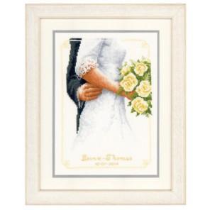 Свадебный букет Набор для вышивания Vervaco PN-0149274