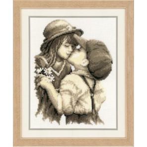 Первый поцелуй Набор для вышивания Vervaco PN-0012145