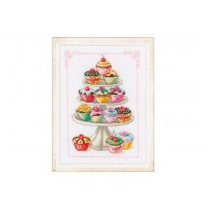Пирожные Набор для вышивания Vervaco PN-0011909