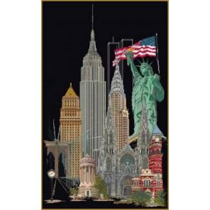 Нью Йорк Набор для вышивания Thea Gouverneur 471.05