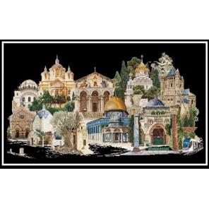 Иерусалим Набор для вышивания Thea Gouverneur 533.05