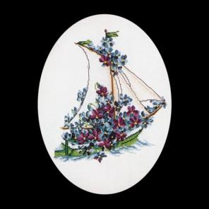 Цветочная яхта Набор для вышивания Thea Gouverneur 927A