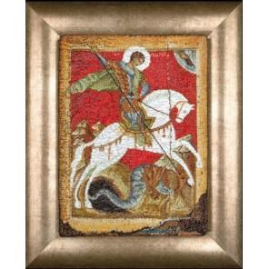 Чудо Георгия о змие Набор для вышивания Thea Gouverneur 498A