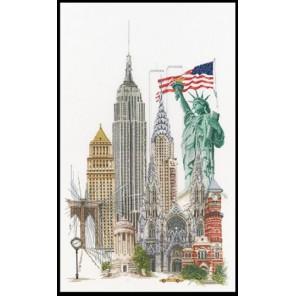 Нью Йорк Набор для вышивания Thea Gouverneur 471A