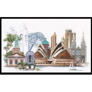 Сидней Набор для вышивания Thea Gouverneur 480A