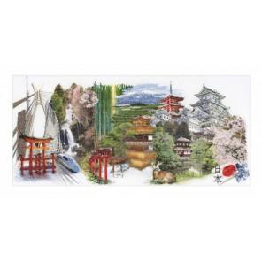 Япония Набор для вышивания Thea Gouverneur 548A