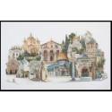 Иерусалим Набор для вышивания Thea Gouverneur