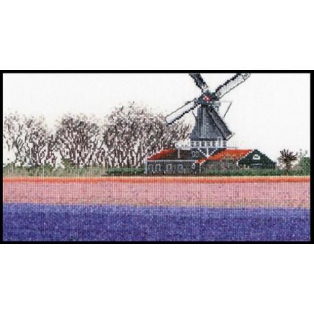 Поля гиацинтов Набор для вышивания Thea Gouverneur 474