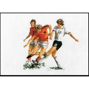 Футболисты Набор для вышивания Thea Gouverneur 1001