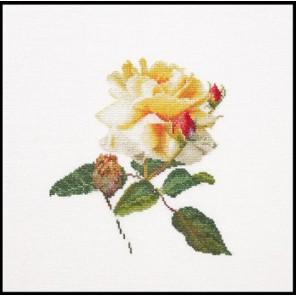Цветение белой розы Набор для вышивания Thea Gouverneur 416