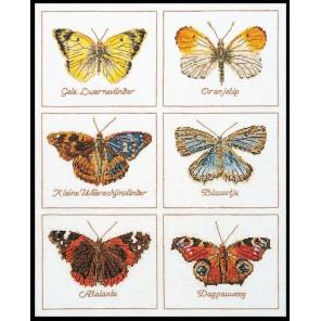 Бабочки Набор для вышивания Thea Gouverneur 2037