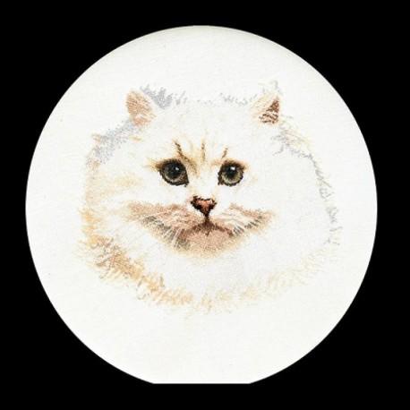 Белый персидский кот Набор для вышивания Thea Gouverneur 1045