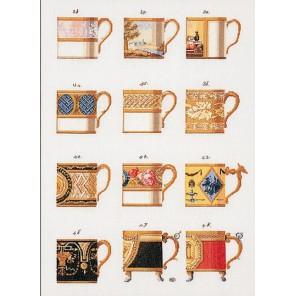 Чашки Набор для вышивания Thea Gouverneur 3022
