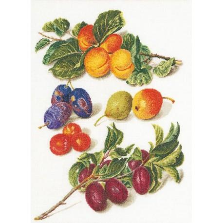 Персики & Сливы Набор для вышивания Thea Gouverneur 3062