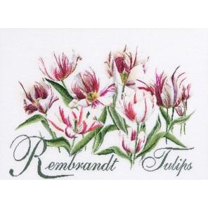 Рембрандт, Тюльпаны Набор для вышивания Thea Gouverneur 447