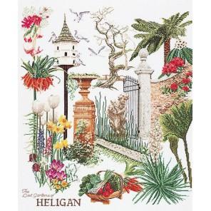 Хелиган сада Набор для вышивания Thea Gouverneur 423