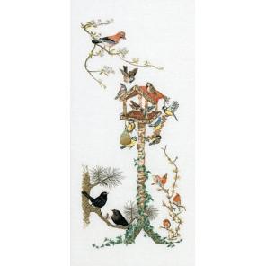 Кормушка Набор для вышивания Thea Gouverneur 1065