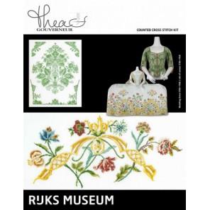 Музей Rijks Платье 1750-1760 / Жакет 1730-1749 Набор для вышивания Thea Gouverneur 780