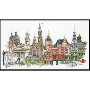 Амстердам Набор для вышивания Thea Gouverneur 450