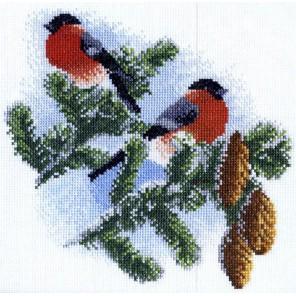 Снегири Набор для вышивания Марья Искусница 03.011.01