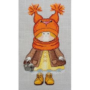 Белочка по рисунку Т. Савеловой Набор для вышивания Марья Искусница 07.007.09