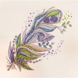 Зелено-фиолетовое Набор для вышивания Марья Искусница 16.001.02