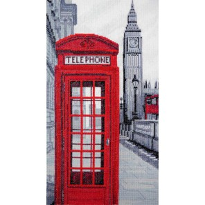 Звонок из Лондона Набор для вышивания Марья Искусница 02.012.01
