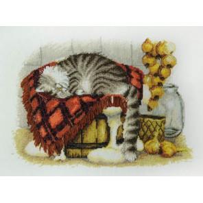 Теплое местечко по рисунку И. Зенюк Набор для вышивания Марья Искусница 03.016.11