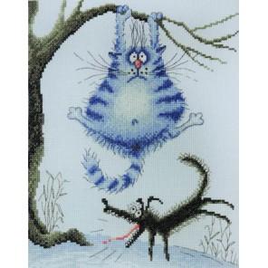 Страшный зверь по рисунку И.Зенюк Набор для вышивания Марья Искусница 07.011.02