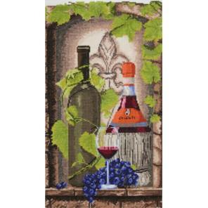 Вино и виноград Набор для вышивания Марья Искусница 11.003.03