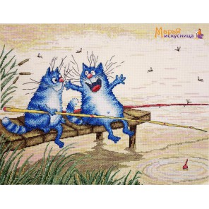 Во-от такая! по рисунку И. Зенюк Набор для вышивания Марья Искусница 07.011.10