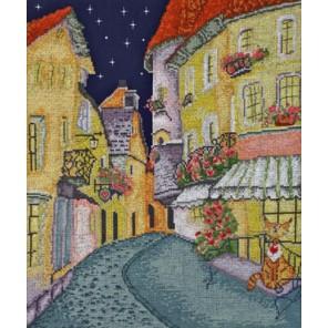 Цветочная улочка по рисунку А. Майской Набор для вышивания Марья Искусница 07.004.02