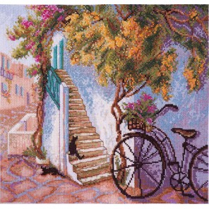 По цветущей улице Набор для вышивания Марья Искусница 02.011.06