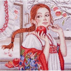 Наливное яблочко Набор для вышивания Марья Искусница 09.007.03