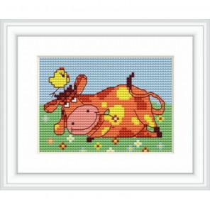 Корова Набор для вышивания Luca-S