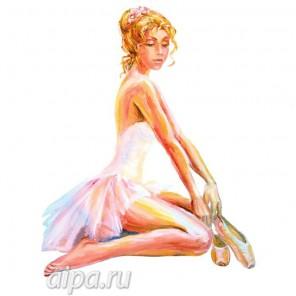 Балерина с пуантами Набор для вышивания V04